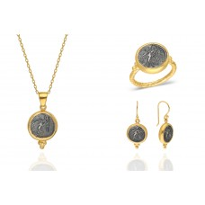 dc509ddc4fa4d2 Turkish Wholesale Gold Plated Coin Design 925 Sterling Silver Jewelry
